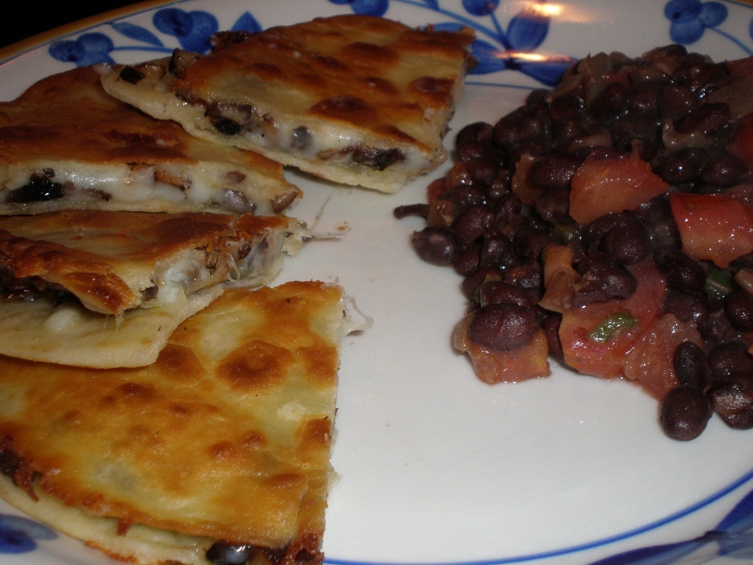 Meatless Monday #31: Mushroom Quesadillas | Powered By Produce