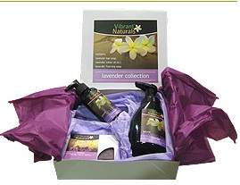 Lavender gift box from Vibrant Naturals ($15)