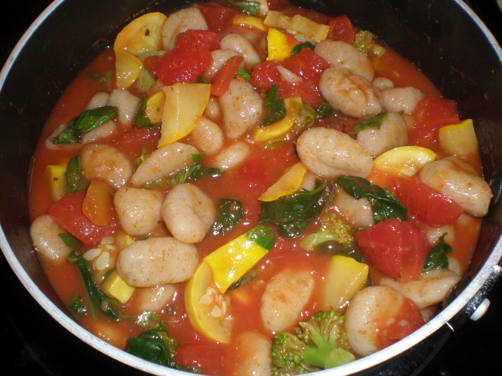 Meatless Monday #64: Gnocchi With Summer Vegetables | Powered By ...