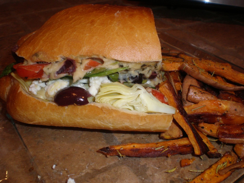 Meatles Monday #75: Artichoke Sandwich | Powered By Produce